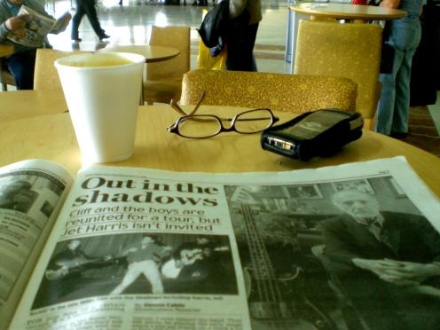 Coffee and Shadows