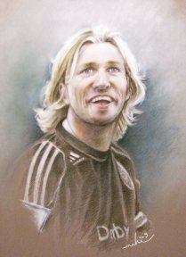 Robbie Savage by Miki