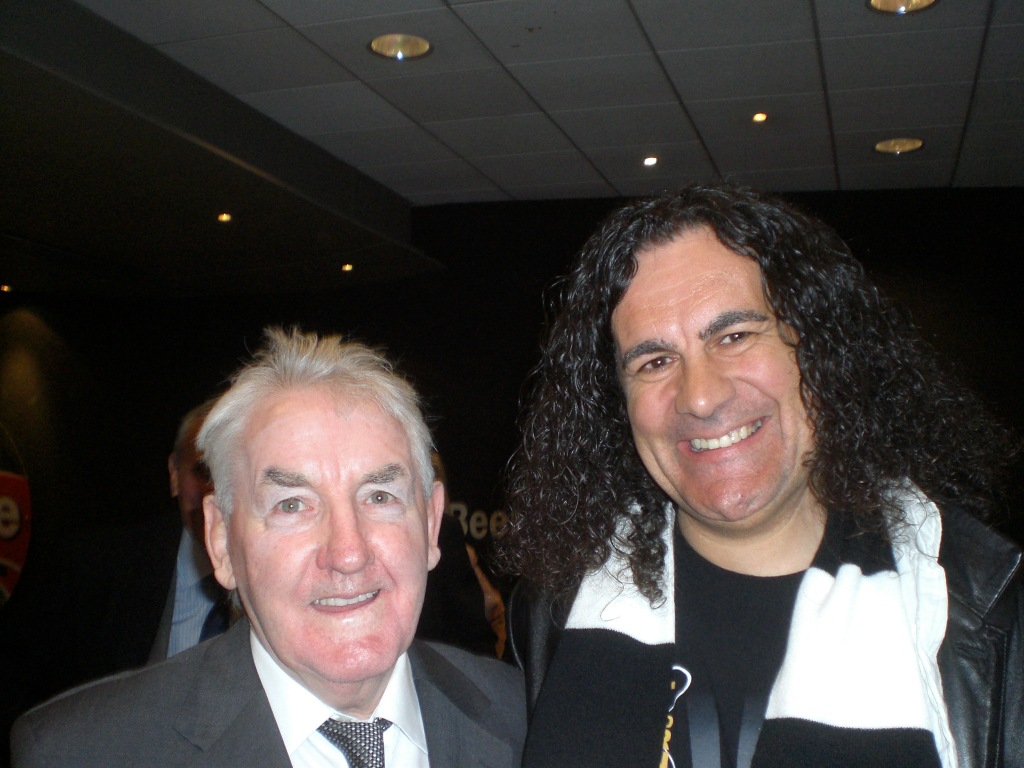 Dave Mackay and fan!