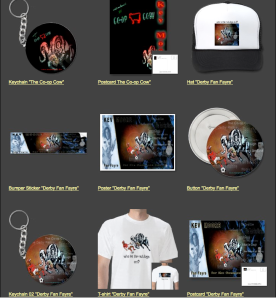 Just some of our product range on Zazzle