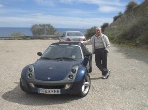 Boy racer...in the Cabo de Gata National Park