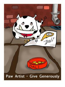 Paw Artist small
