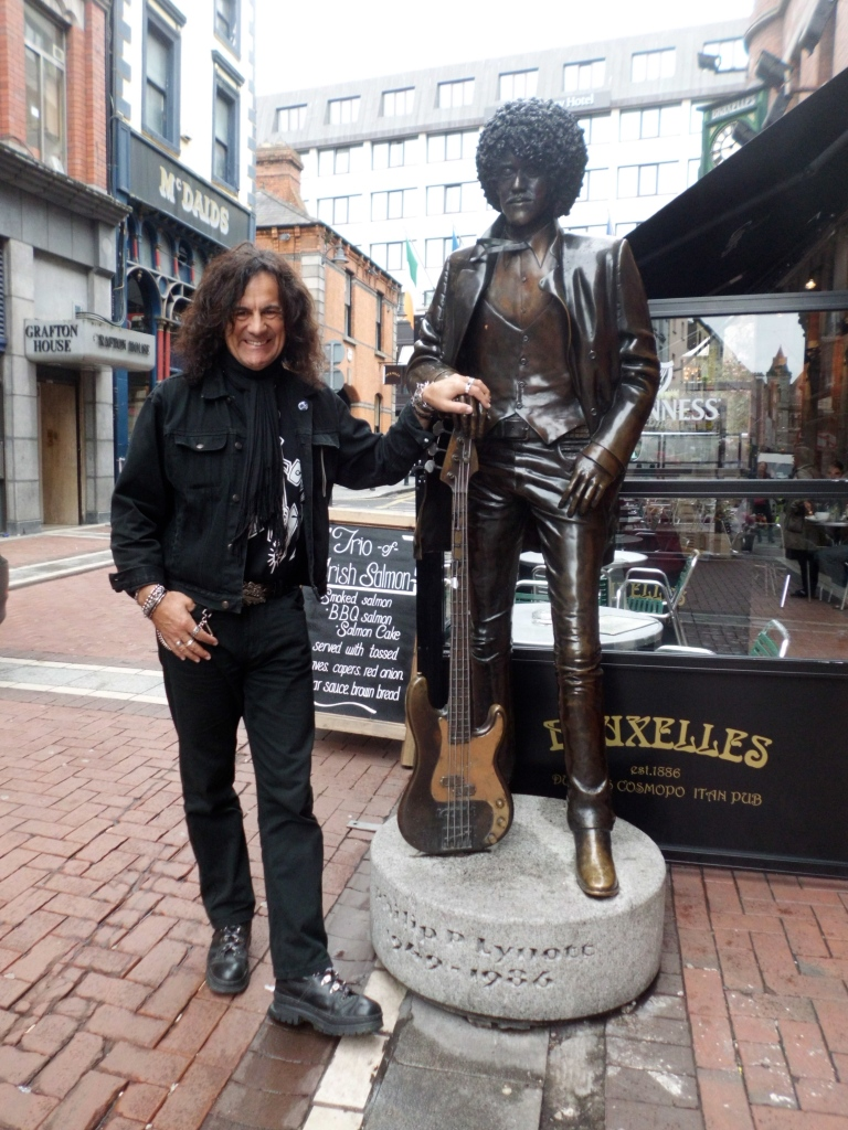 Me and Phil: The corner of Grafton Street, Dublin 2013