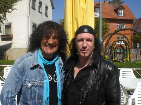 Me with Robb Reiner from Anvil at KIT XV
