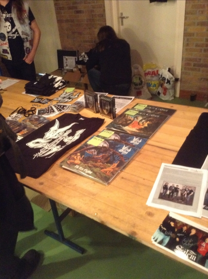 Our Merch stand